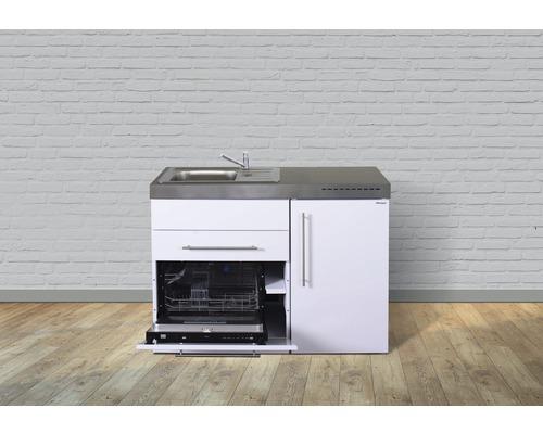 Miniküche stengel Premiumline Breite 120 cm MPGS120 KS o.Kochfeld Becken links
