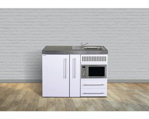 Miniküche stengel Premiumline Breite 120 cm MPM120A KS o.Kochfeld Becken links