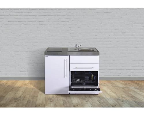 Miniküche stengel Premiumline Breite 110 cm MPGS110 KS Induktion Becken rechts