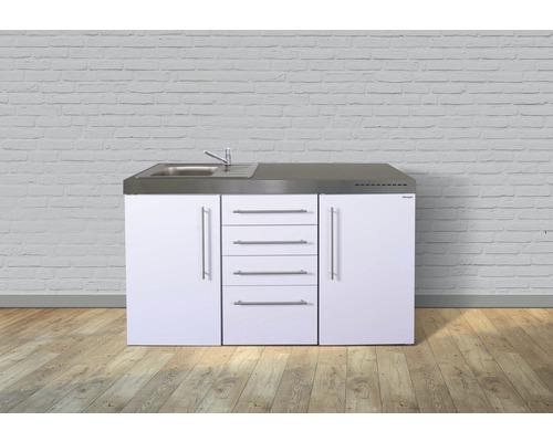 Miniküche stengel Premiumline Breite 150 cm MPS4_150 KS o.Kochfeld Becken links