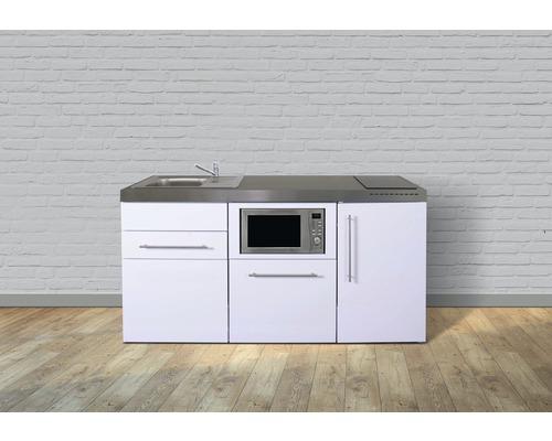 Miniküche stengel Premiumline Breite 170 cm MPM170 KS Glaskochfeld Becken links