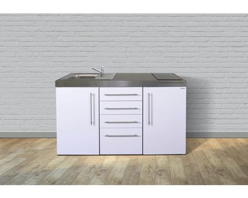 Miniküche stengel Premiumline Breite 150 cm MPS4_150 KS Glaskochfeld Becken links
