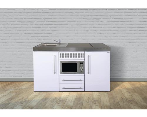 Miniküche stengel Premiumline Breite 150 cm MPM150 KS Induktion Becken links