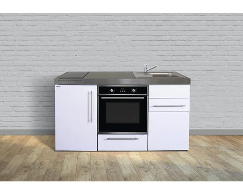 Miniküche stengel Premiumline Breite 160 cm MPB160 KS Induktion Becken rechts