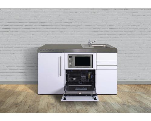 Miniküche stengel Premiumline Breite 150 cm MPGSM150 KS o.Kochfeld Becken rechts
