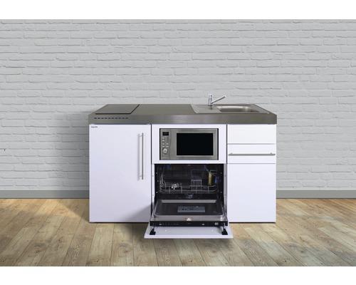 Miniküche stengel Premiumline Breite 150 cm MPGSM150 KS Induktion Becken rechts