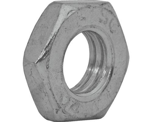 Mutter niedrige Form DIN 439, M5 galv.verzinkt 1000 Stück