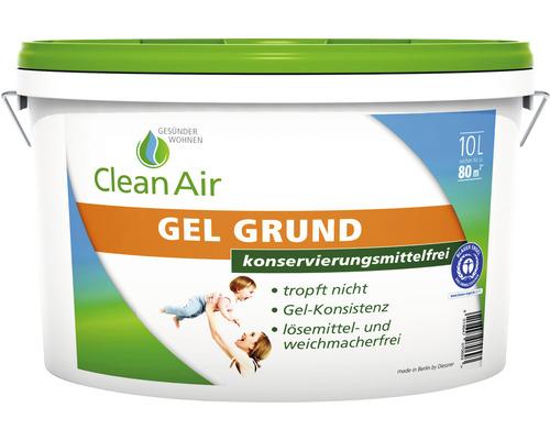 Clean Air GESÜNDER WOHNEN GEL Grund Grundierung konservierungsmittelfrei 10 l