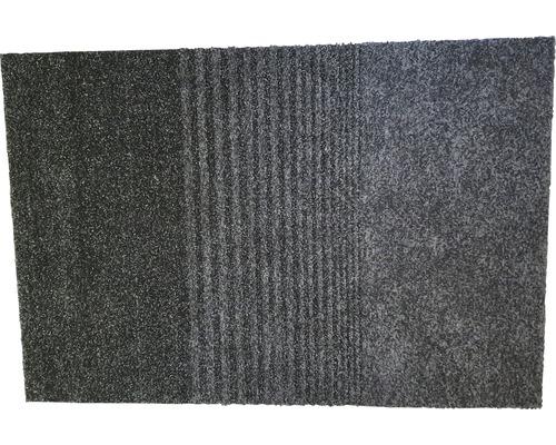 Fußmatte Schmutzfangmatte Triplebrush schwarz 90x133 cm