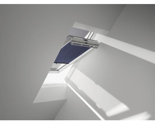 VELUX Vorteils-Set Hitzeschutz-Markise transparent schwarz und Wabenplissee Faltstore blau ROU300 9050