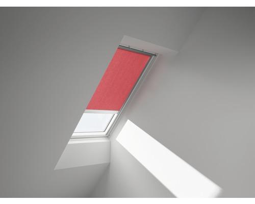 VELUX Sichtschutzrollo rot uni solarbetrieben RSL M10 4159S