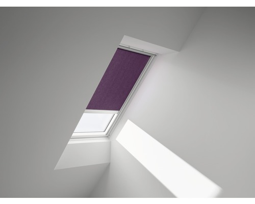 VELUX Sichtschutzrollo violett uni elektrisch RML U10 4157S