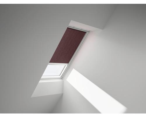 VELUX Sichtschutzrollo braun uni solarbetrieben RSL U08 4060S