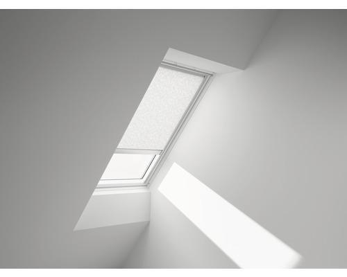 VELUX Sichtschutzrollo weiß gemustert elektrisch RML 102 4156S