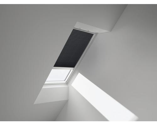 VELUX Plissee-Faltstore uni blau metallic solarbetrieben FSL 206 1265S