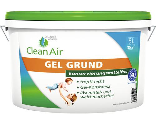 Clean Air GESÜNDER WOHNEN GEL Grund Grundierung konservierungsmittelfrei 5 l