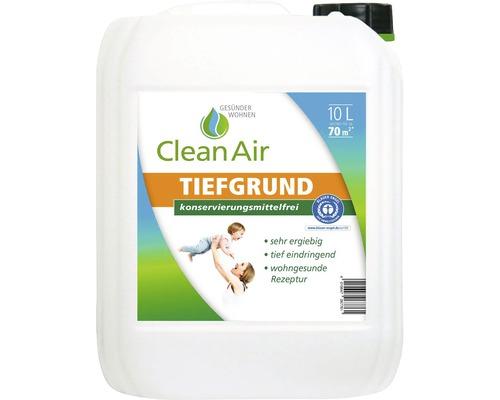 Clean Air GESÜNDER WOHNEN Tiefgrund Grundierung konservierungsmittelfrei 10 l