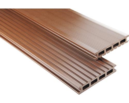 Konsta WPC Terrassendiele Primera braun glatt 26x145x4200 mm