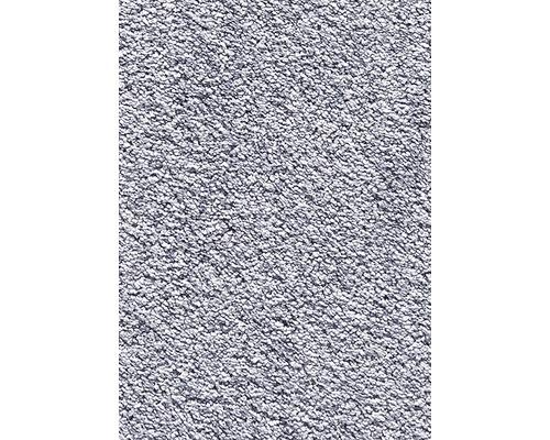 Teppichboden Kräuselvelours Romina hellgrau 400 cm breit (Meterware)