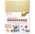Glitter-Moosgummi Mosaik