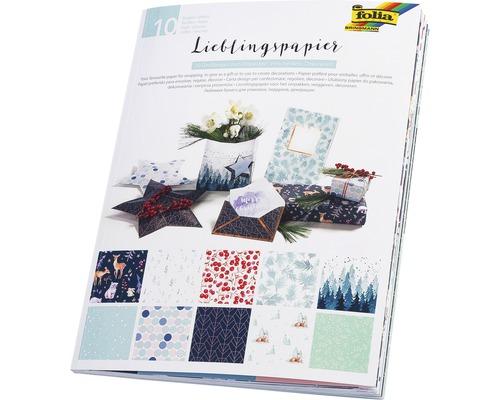 Lieblingspapier Winter 10 Bogen