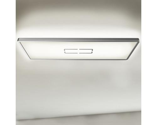 LED Deckenleuchte ultraflach 22W 2700 lm 4000 K neutralweiß HxBxT 29/200/580 mm Free weiß/silber