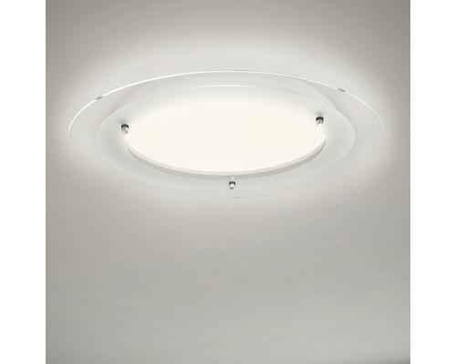 LED Deckenleuchte ultraflach 22W 3000 lm 3000 K warmweiß HxØ 50/520 mm Free weiß