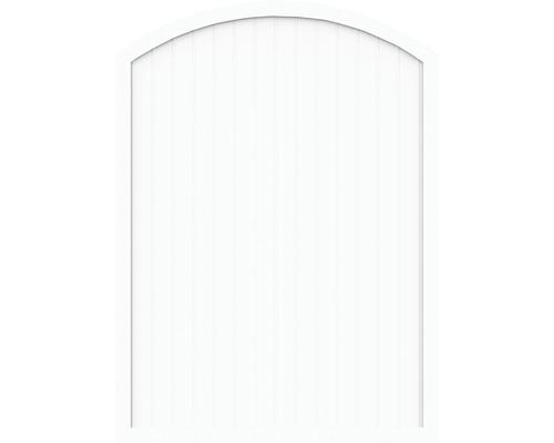 Sichtschutzelement Basic Line Typ F Weiß 180 x 205/180 x 4,8 cm