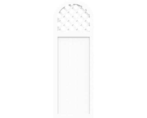 Sichtschutzelement Basic Line Typ Y Weiß 90 x 205/180 x 4,8 cm