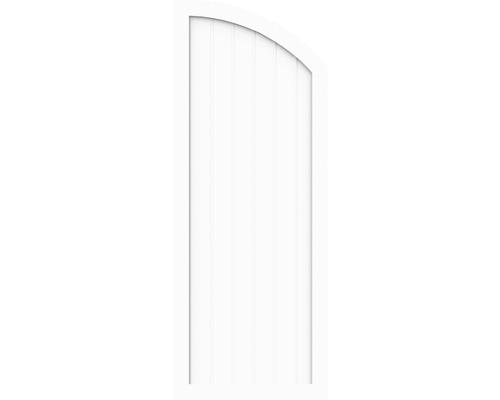 Sichtschtzelement Basic Line Typ H, rechts, Weiß 90 x 180/150 x 4,8 cm