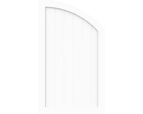 Sichtschutzelement Basic Line Typ R, rechts, Weiß 90 x 120/90 x 4,8 cm