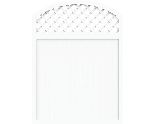 Sichtschutzelement Basic Line Typ X Weiß 180 x 205/180 x 4,8 cm