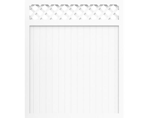 Sichtschutzelement Basic Line Typ C Weiß 180 x 180 x 4,8 cm