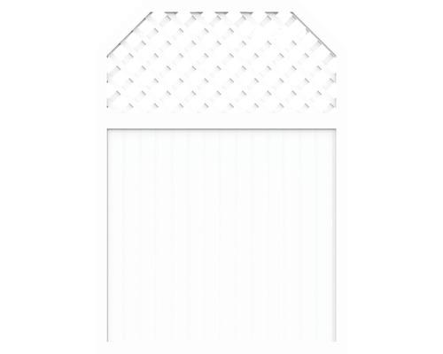 Sichtschutzelement Basic Line Typ I Weiß 180 x 210/180 x 4,8 cm
