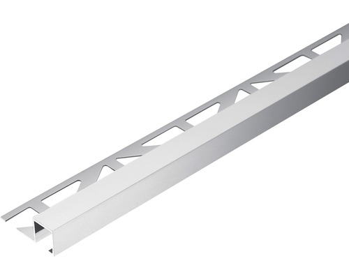 Abschlussprofil Dural Squareline 10 mm Länge 250 cm Aluminium Natur