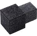 Aussenecke Squareline Aluminium antr. 2 Stück