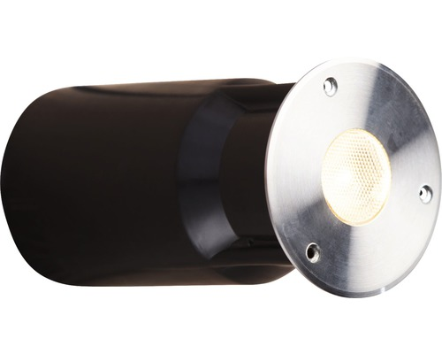 Teichbeleuchtung Smart Light Decklight 3 W warmweiß, Edelstahl