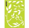 Mülltonnentür GABIO 120 l Floral 65x90 cm trendgrün