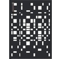 Mülltonnentür GABIO 120 l Geometrie 65x90 cm anthrazit