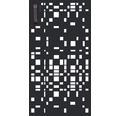 Mülltonnentür GABIO 240 l Geometrie 73x135 cm anthrazit