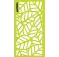 Mülltonnentür GABIO 240 l Palms 73x135 cm trendgrün