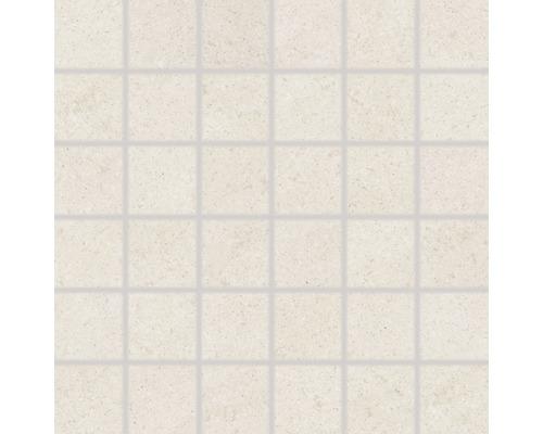 Feinsteinzeugmosaik Udine elfenbein unglasiert 30x30 cm