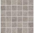Feinsteinzeugmosaik Udine beige-grau unglasiert 30x30 cm