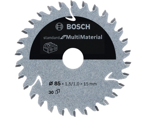 Kreissägeblatt Standard for Multi Material H Ø 85x15 Z30