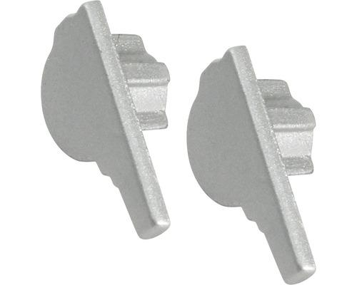 Endstück Dural Florentostep XKR Alu silber 11 mm 2 Stück