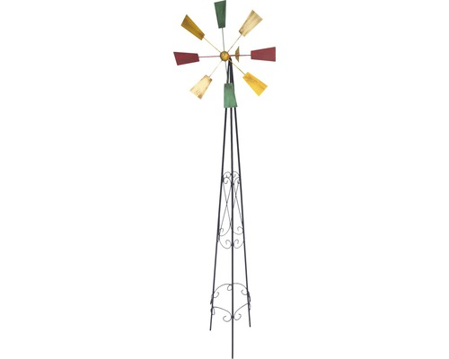 Metall Windrad H 150 cm