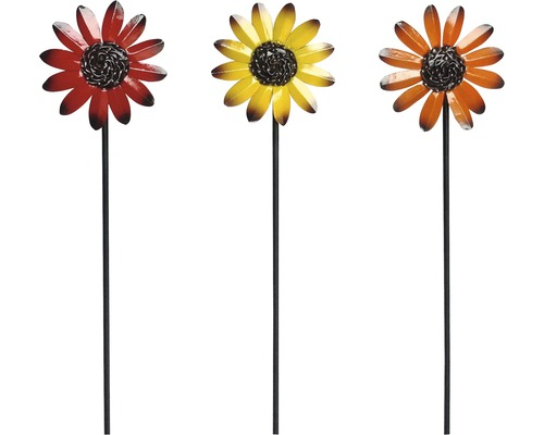 Dekostab Blume H 85 cm zufällige Farb- und Musterauswahl