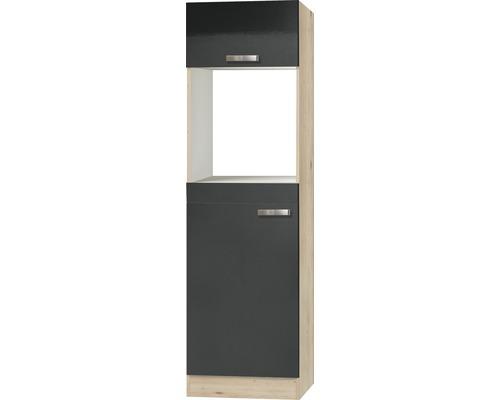 Hochschrank Optifit Udine Breite 60 cm KUUD HOMK660-9+ Anthrazit