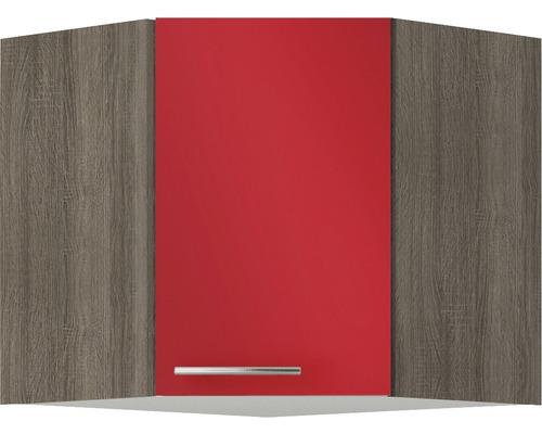 Eckhängeschrank Optifit Imola Breite 60 cm KUIM OED606-9+ Rot