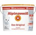 Alpinaweiß Wandfarbe Das Original Spritzfrei 15 l
